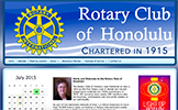 Rotary Club of Honolulu, USA